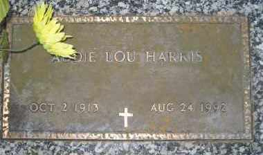 AUSTIN HARRIS, ADDIE LOU - Ashley County, Arkansas | ADDIE LOU AUSTIN HARRIS - Arkansas Gravestone Photos