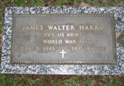 HARRIS (VETERAN WWII), JAMES WALTER - Ashley County, Arkansas | JAMES WALTER HARRIS (VETERAN WWII) - Arkansas Gravestone Photos
