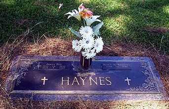 HAYNES, JAMES ROY - Ashley County, Arkansas | JAMES ROY HAYNES - Arkansas Gravestone Photos