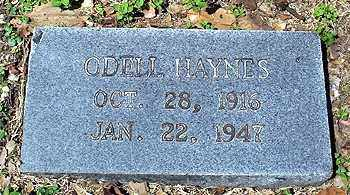 HAYNES, ODELL - Ashley County, Arkansas | ODELL HAYNES - Arkansas Gravestone Photos