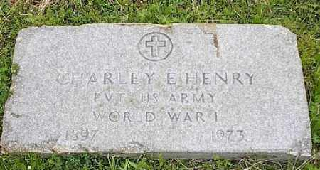 HENRY (VETERAN WWI), CHARLEY E - Ashley County, Arkansas | CHARLEY E HENRY (VETERAN WWI) - Arkansas Gravestone Photos