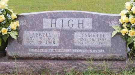 HIGH, J. EWELL - Ashley County, Arkansas | J. EWELL HIGH - Arkansas Gravestone Photos