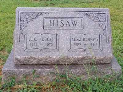 DEMPSEY HISAW, ALMA - Ashley County, Arkansas | ALMA DEMPSEY HISAW - Arkansas Gravestone Photos