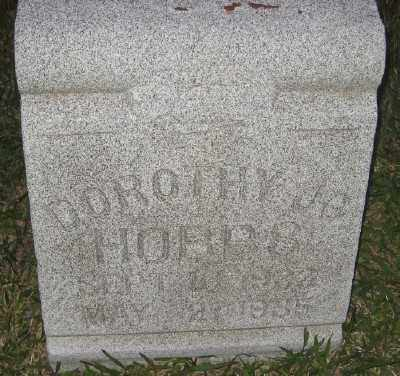 HOBBS, DOROTHY JO - Ashley County, Arkansas | DOROTHY JO HOBBS - Arkansas Gravestone Photos