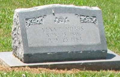 HOBBS, VENA E - Ashley County, Arkansas | VENA E HOBBS - Arkansas Gravestone Photos