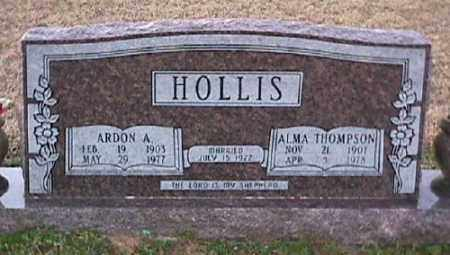 THOMPSON HOLLIS, ALMA - Ashley County, Arkansas | ALMA THOMPSON HOLLIS - Arkansas Gravestone Photos