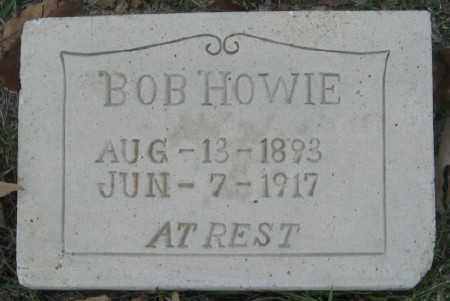 HOWIE, BOB - Ashley County, Arkansas | BOB HOWIE - Arkansas Gravestone Photos