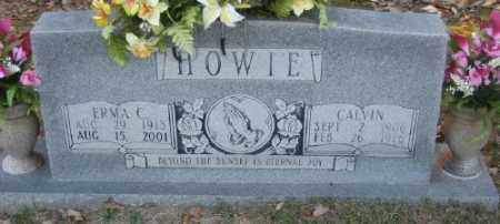 HOWIE, CALVIN - Ashley County, Arkansas | CALVIN HOWIE - Arkansas Gravestone Photos