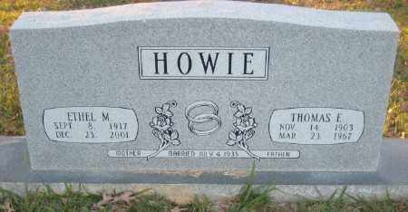 HOWIE, THOMAS E. - Ashley County, Arkansas | THOMAS E. HOWIE - Arkansas Gravestone Photos