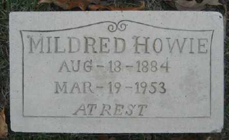 HOWIE, MILDRED - Ashley County, Arkansas | MILDRED HOWIE - Arkansas Gravestone Photos
