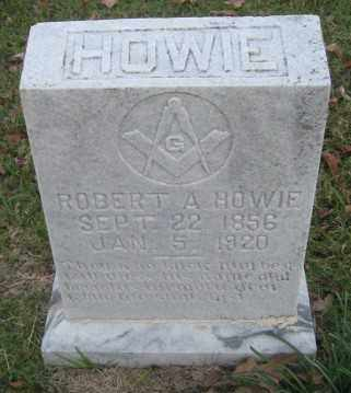 HOWIE, ROBERT A. - Ashley County, Arkansas | ROBERT A. HOWIE - Arkansas Gravestone Photos