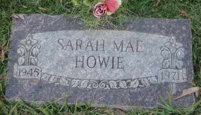 HOWIE, SARAH MAE - Ashley County, Arkansas | SARAH MAE HOWIE - Arkansas Gravestone Photos