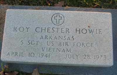HOWIE (VETERAN VIET), ROY CHESTER - Ashley County, Arkansas | ROY CHESTER HOWIE (VETERAN VIET) - Arkansas Gravestone Photos