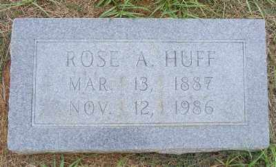 HUFF, ROSE A. - Ashley County, Arkansas | ROSE A. HUFF - Arkansas Gravestone Photos