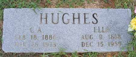HUGHES, C. A. - Ashley County, Arkansas | C. A. HUGHES - Arkansas Gravestone Photos