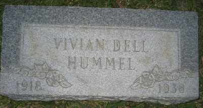 HUMMEL, VIVIAN DELL - Ashley County, Arkansas | VIVIAN DELL HUMMEL - Arkansas Gravestone Photos