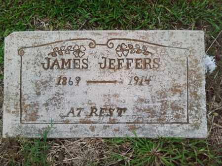 JEFFERS, JAMES - Ashley County, Arkansas | JAMES JEFFERS - Arkansas Gravestone Photos