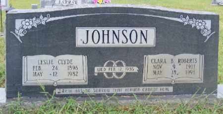JOHNSON, LESLIE CLYDE - Ashley County, Arkansas | LESLIE CLYDE JOHNSON - Arkansas Gravestone Photos