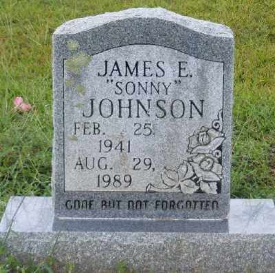 JOHNSON, JAMES E. - Ashley County, Arkansas | JAMES E. JOHNSON - Arkansas Gravestone Photos