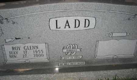 LADD, ROY GLENN - Ashley County, Arkansas | ROY GLENN LADD - Arkansas Gravestone Photos