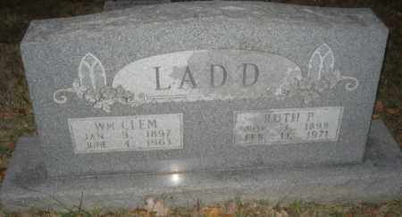 LADD, WILLIAM CLEM - Ashley County, Arkansas | WILLIAM CLEM LADD - Arkansas Gravestone Photos