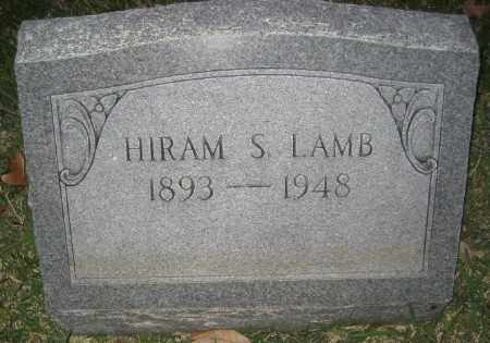 LAMB, HIRAM S. - Ashley County, Arkansas | HIRAM S. LAMB - Arkansas Gravestone Photos