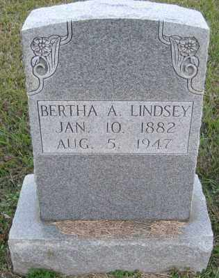 LINDSEY, BERTHA A. - Ashley County, Arkansas | BERTHA A. LINDSEY - Arkansas Gravestone Photos