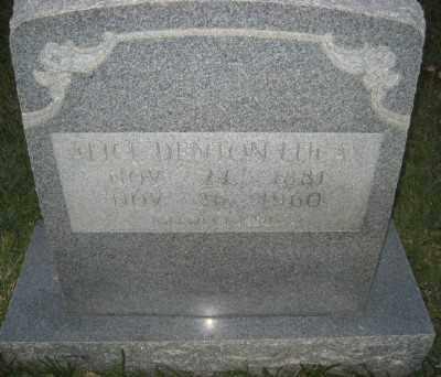 LUCAS, ALICE - Ashley County, Arkansas | ALICE LUCAS - Arkansas Gravestone Photos
