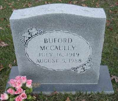 MCCAULEY, BUFORD - Ashley County, Arkansas | BUFORD MCCAULEY - Arkansas Gravestone Photos