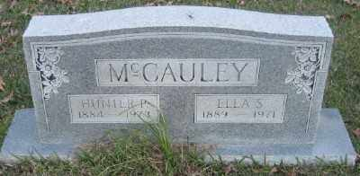 MCCAULEY, ELLA S. - Ashley County, Arkansas | ELLA S. MCCAULEY - Arkansas Gravestone Photos