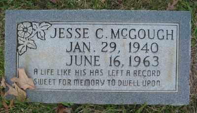MCGOUGH, JESSE C. - Ashley County, Arkansas | JESSE C. MCGOUGH - Arkansas Gravestone Photos