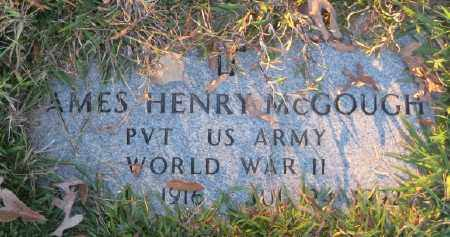 MCGOUGH (VETERAN WWII), JAMES HENRY - Ashley County, Arkansas | JAMES HENRY MCGOUGH (VETERAN WWII) - Arkansas Gravestone Photos
