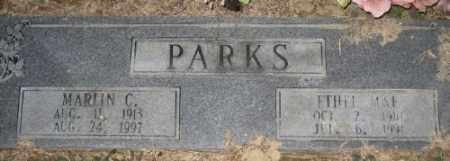 PARKS, MARLIN C. - Ashley County, Arkansas | MARLIN C. PARKS - Arkansas Gravestone Photos