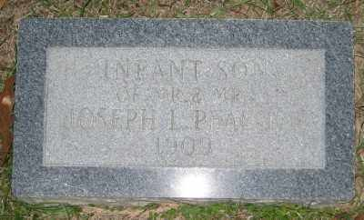 PEACOCK, INFANT SON - Ashley County, Arkansas | INFANT SON PEACOCK - Arkansas Gravestone Photos