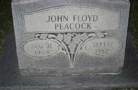 PEACOCK, JOHN FLOYD - Ashley County, Arkansas | JOHN FLOYD PEACOCK - Arkansas Gravestone Photos