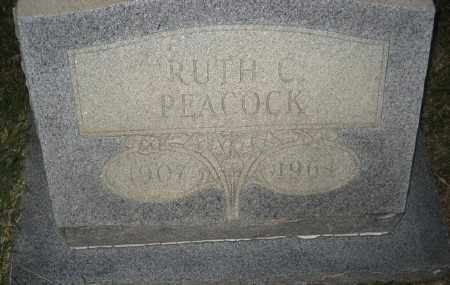 PEACOCK, RUTH C. - Ashley County, Arkansas | RUTH C. PEACOCK - Arkansas Gravestone Photos
