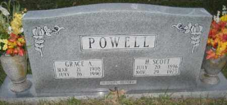 POWELL, GRACE A - Ashley County, Arkansas | GRACE A POWELL - Arkansas Gravestone Photos