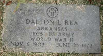 REA (VETERAN WWII), DALTON L - Ashley County, Arkansas | DALTON L REA (VETERAN WWII) - Arkansas Gravestone Photos
