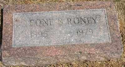 RONEY, LEONE S. - Ashley County, Arkansas | LEONE S. RONEY - Arkansas Gravestone Photos