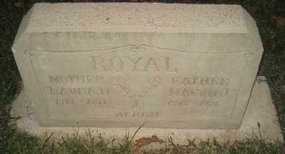 ROYAL, LAURA D - Ashley County, Arkansas | LAURA D ROYAL - Arkansas Gravestone Photos