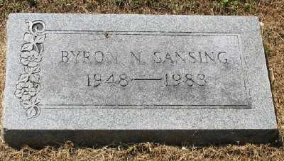 SANSING, BYRON N. - Ashley County, Arkansas | BYRON N. SANSING - Arkansas Gravestone Photos
