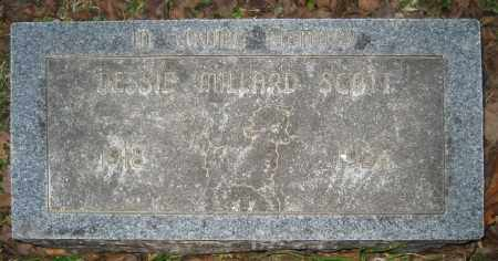 MILLARD SCOTT, DESSIE - Ashley County, Arkansas | DESSIE MILLARD SCOTT - Arkansas Gravestone Photos