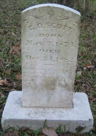 SCOTT, G. O. - Ashley County, Arkansas | G. O. SCOTT - Arkansas Gravestone Photos