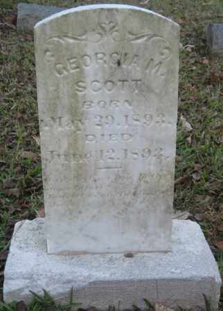 SCOTT, GEORGIA M. - Ashley County, Arkansas | GEORGIA M. SCOTT - Arkansas Gravestone Photos