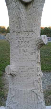SCOTT, THOMAS A. - Ashley County, Arkansas | THOMAS A. SCOTT - Arkansas Gravestone Photos