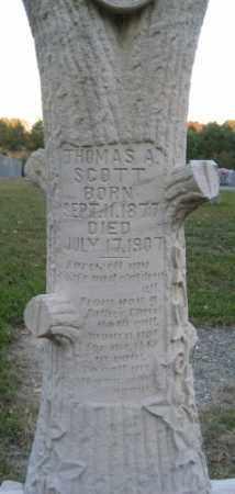 SCOTT, THOMAS A. - Ashley County, Arkansas | THOMAS A. SCOTT - Arkansas Gravestone Photos