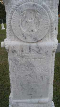 SCOTT, WILLIS J. - Ashley County, Arkansas | WILLIS J. SCOTT - Arkansas Gravestone Photos