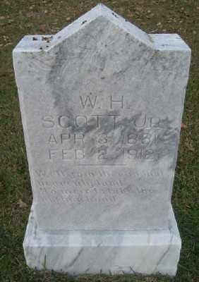 SCOTT, W. H. JR. - Ashley County, Arkansas | W. H. JR. SCOTT - Arkansas Gravestone Photos