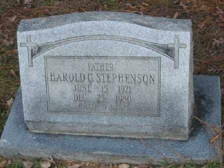 STEPHENSON, HAROLD G. - Ashley County, Arkansas | HAROLD G. STEPHENSON - Arkansas Gravestone Photos
