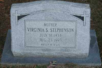 STEPHENSON, VIRGINIA S. - Ashley County, Arkansas | VIRGINIA S. STEPHENSON - Arkansas Gravestone Photos